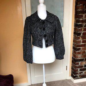 Cute Crop Tweed Blazer
